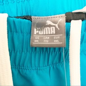 Puma Shorts - PUMA Blue Cruiser Short Caribbean Sea White XXL